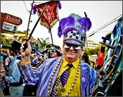 Having Fun at the New Orleans Mardi Gras
